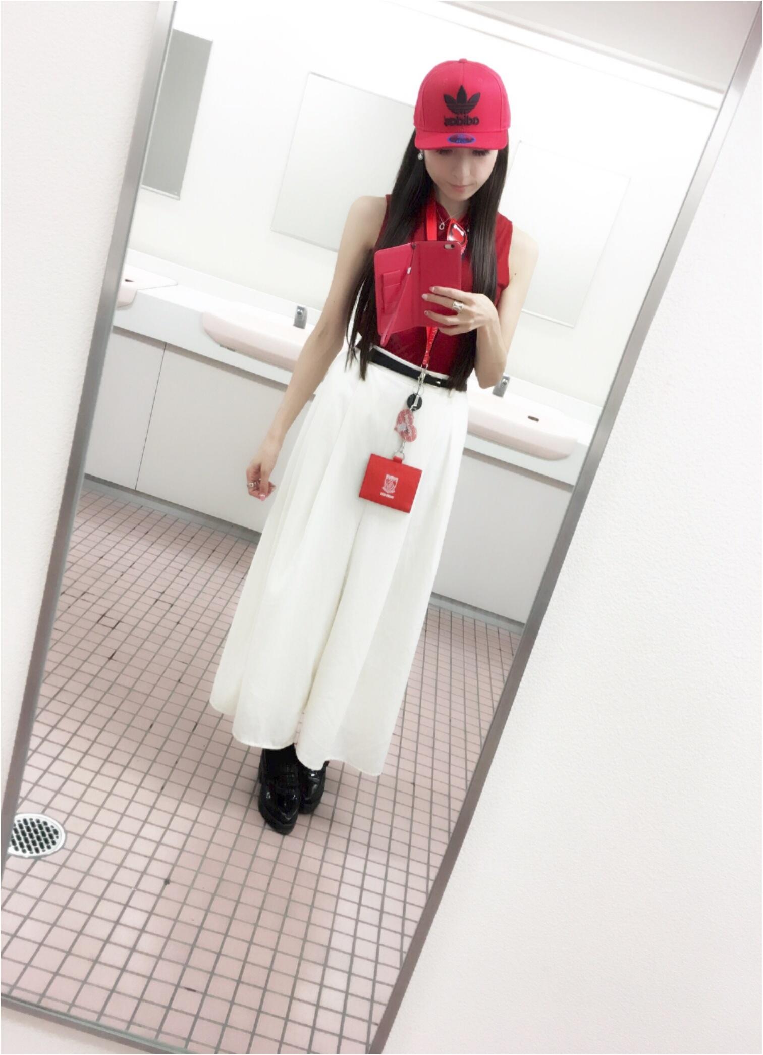♡【浦和レッズサポ女】サッカー観戦コーデ♡モアハピ◡̈のぞみ♡_4