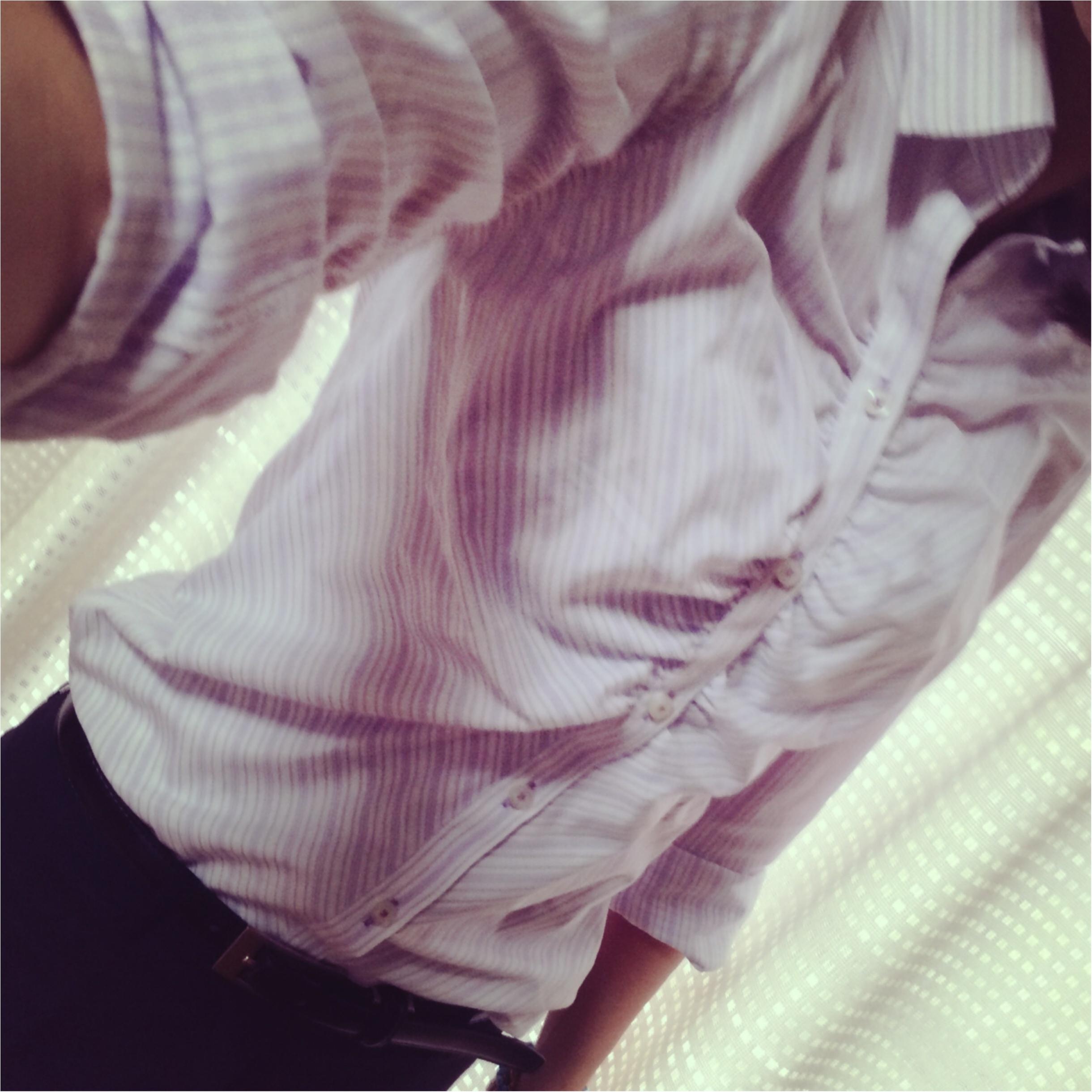 ★スタイルよく見せるなら…シャツ×クロップドパンツスーツコーデ!★_5