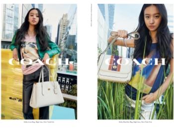 『コーチ』の広告キャンペーンに起用されたのは、モデルのKōki,さん! 彼女が持っている新作バッグもチェック☆