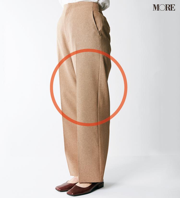 デニムパンツ&ワイドパンツ、どの靴と合わせるのが1番きれい? MOREがその相性を徹底検証!_4_1