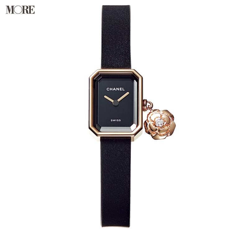 シャネルの時計ぷルミエールカメリアコレクション