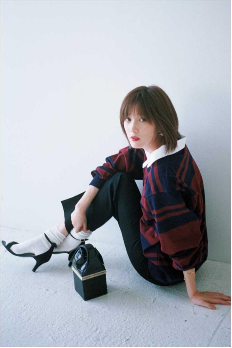 きれいめブームの最先端【黒ボトム】コーデカタログ | ファッション(2018年秋編)2