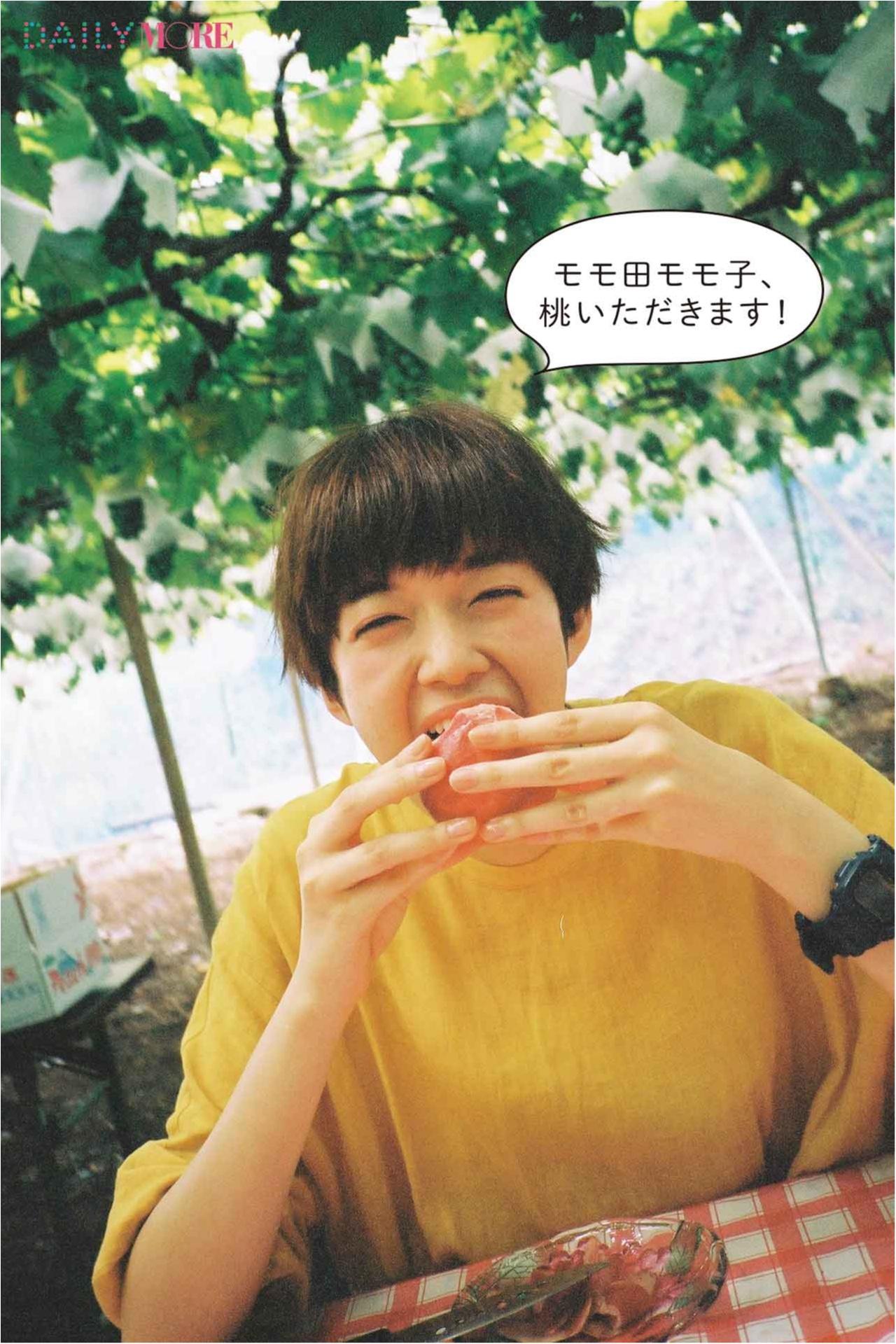 大好きなフルーツが鈴なり♪ 佐藤栞里が「桃狩り」にGO!【栞里のちょっと行ってみ!?】_2