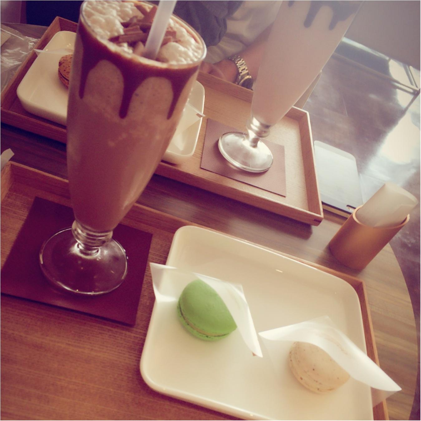 暑いけど、リンツのチョコは大好き‼︎自由が丘にあるリンツのカフェに行ってみた^ ^_1