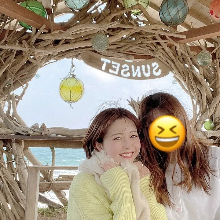 糸島にあるサンセットビーチ