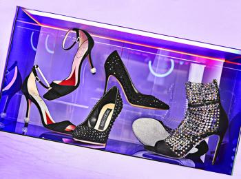 新宿伊勢丹にJUJUさんセレクトの美シューズずらり♡ コラボ企画『YOUR STORY ~talkative heels~ selected by Theater JUJU』開催中!