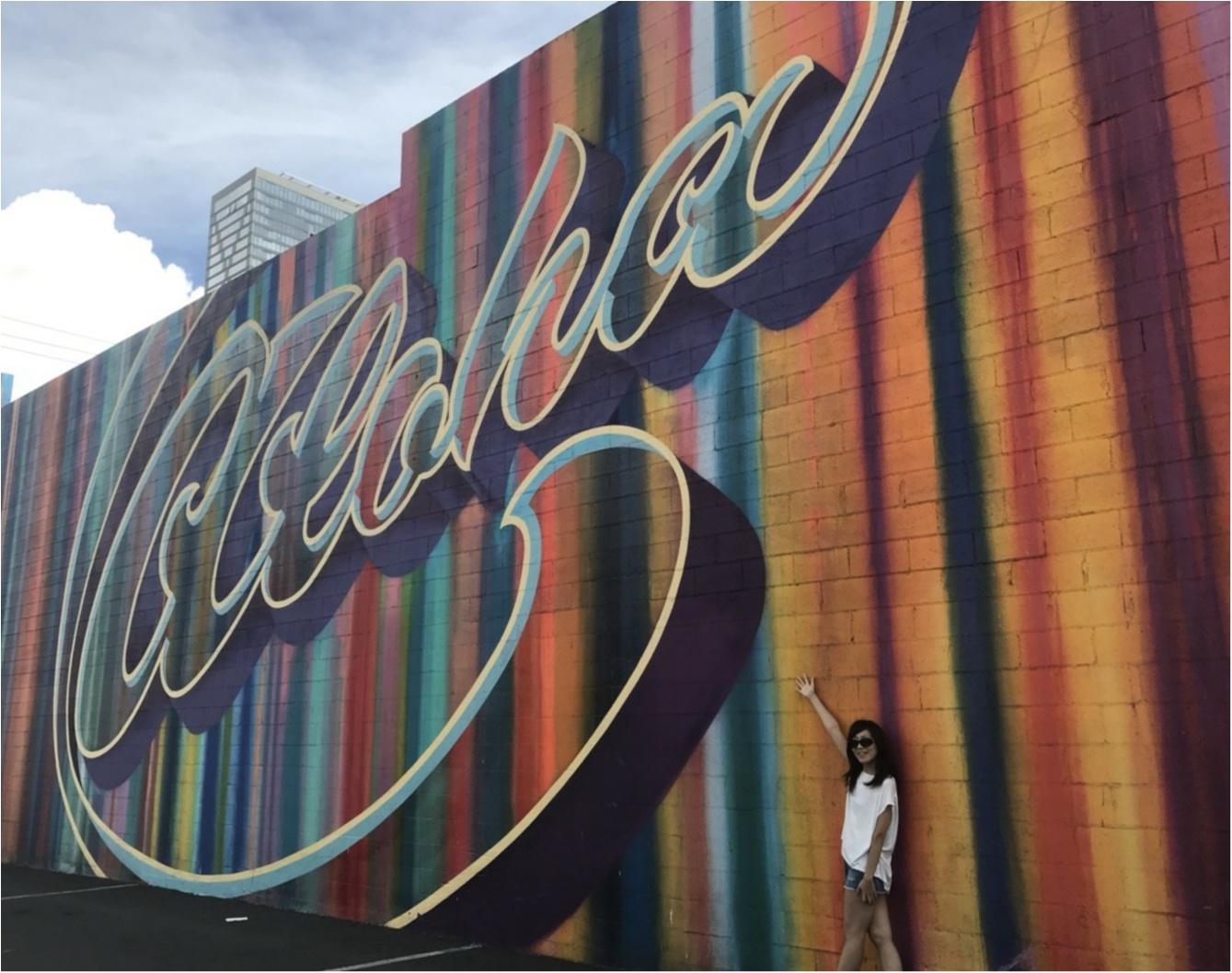 【trip】ハワイで今注目のエリア「カカアコ」でウォールアート巡り♡_5