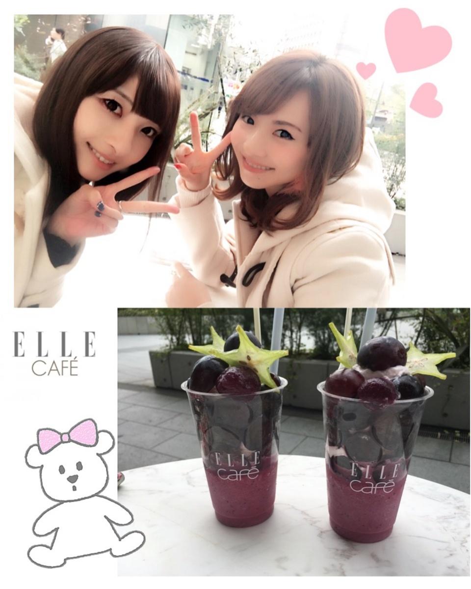 ♡11/11グランドオープン【ELLE café 青山店】プレオープンへ♡モアハピ◡̈のぞみ♡_1