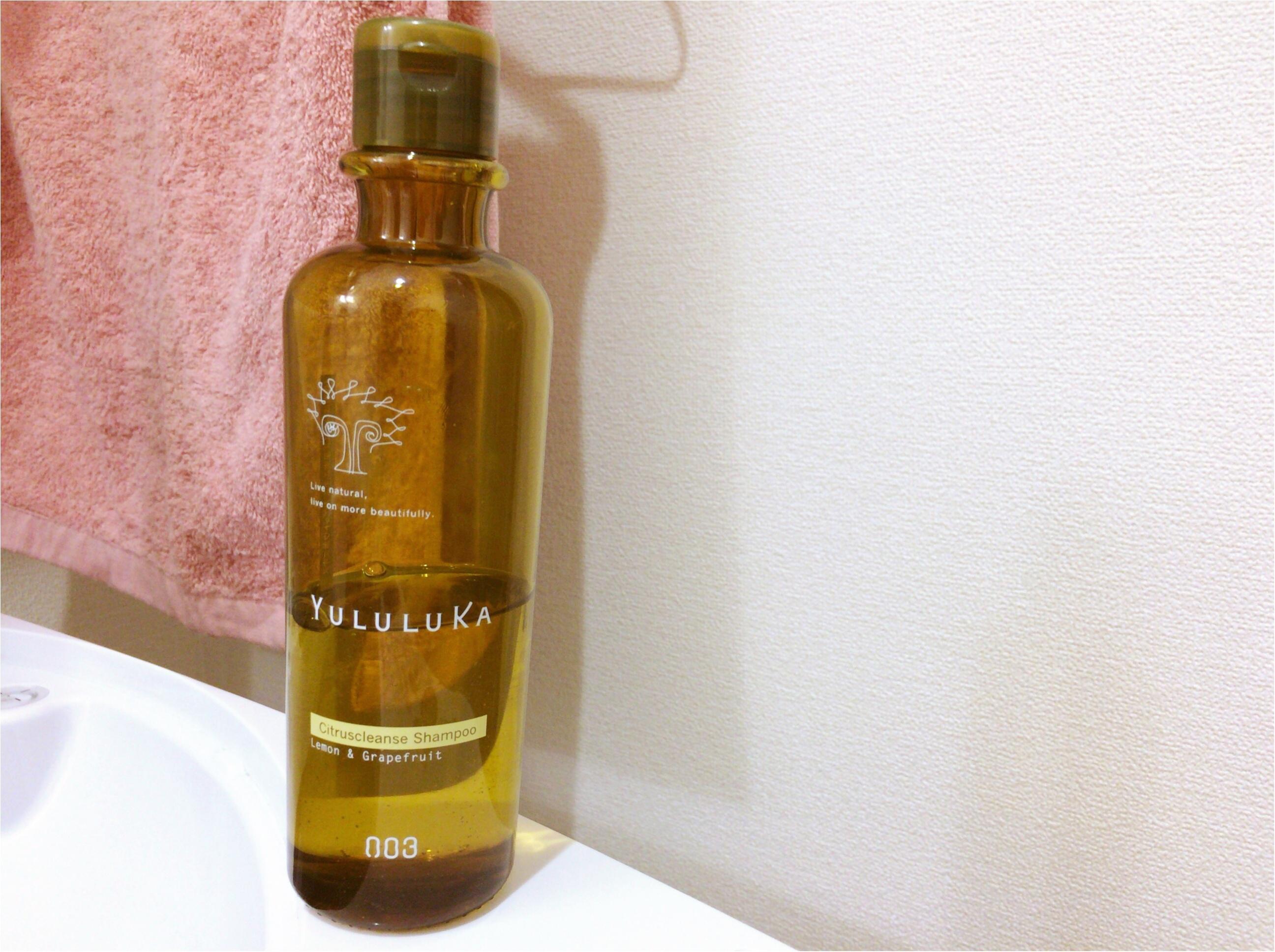 夏一押し!【頭皮シャンプー】植物の力で美髪《YULULUKA》シトラス香る天然系クレンジング♡_5