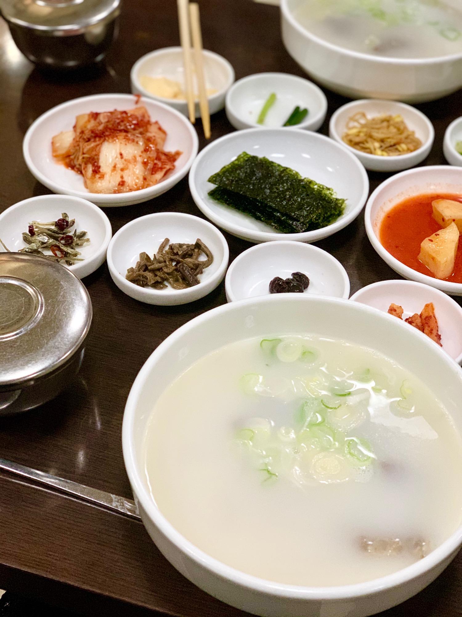 《24時間営業の韓国料理有名店❤️》【赤坂•一龍】で絶品!ソルロンタン☻_3
