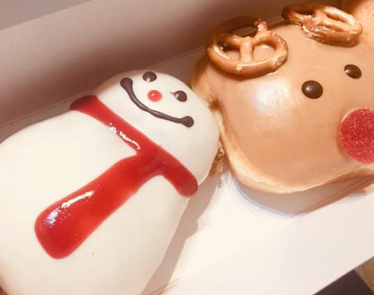 札幌でも食べれるようになりました【クリスピークリームドーナツ】の冬の新作いただきました!!!_1