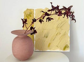おしゃれな花瓶と自作のインテリア小物を紹介!