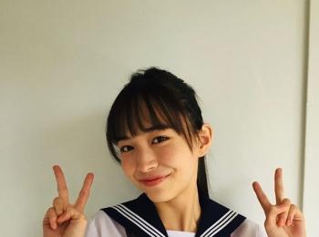 #井桁弘恵 制服がとってもお似合いで可愛いいげちゃん♡【MORE SMILEUP CHALLENGE 24】