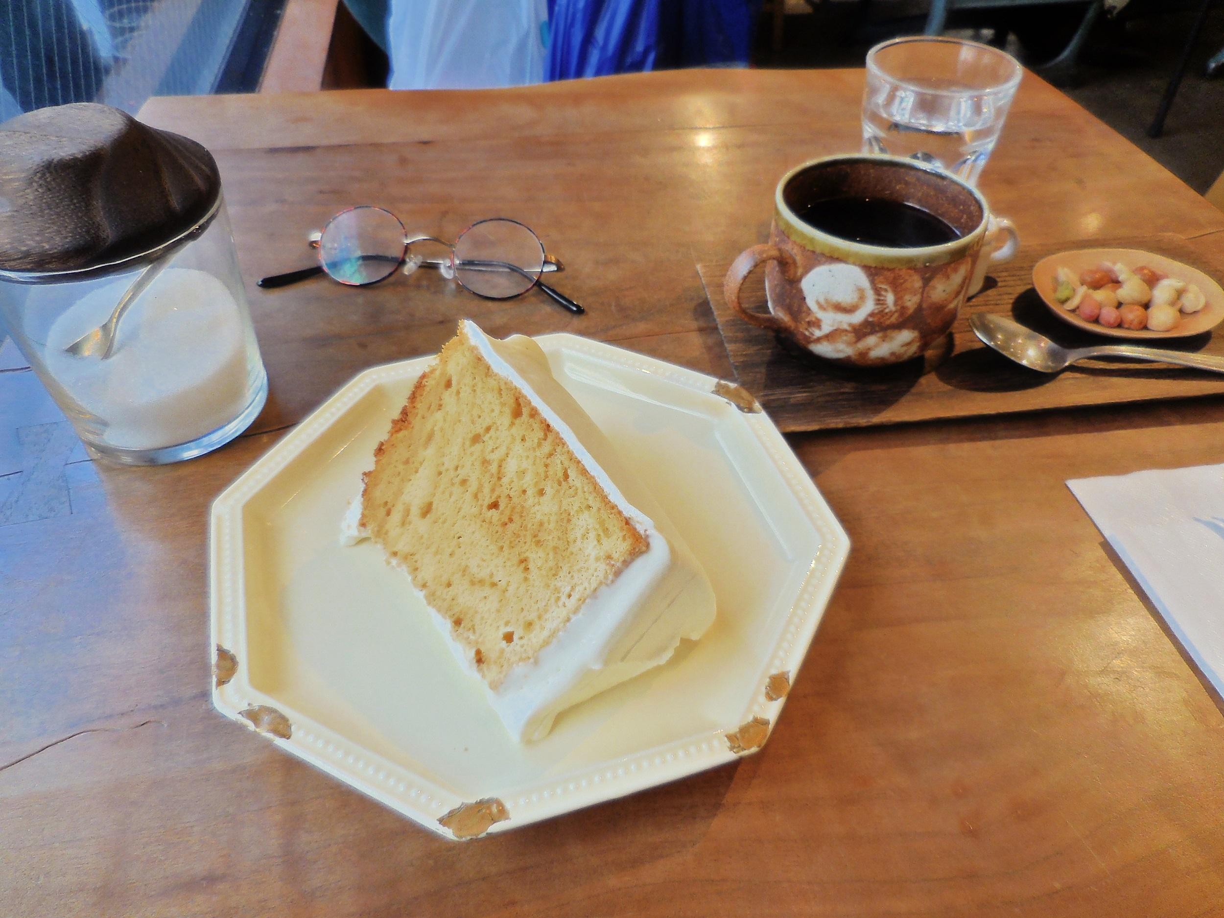 【三鷹】モリスケ・横森珈琲 シフォンケーキがここまでおいしいなんて♡_6