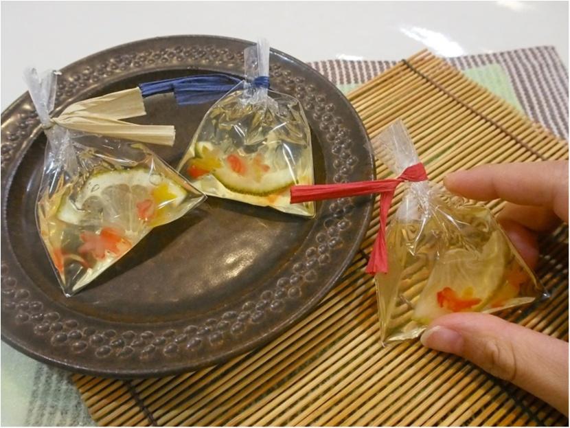 ユイミコさんに習う夏の和菓子作り体験で涼しげな「金魚の羊羮」にチャレンジ♪_1