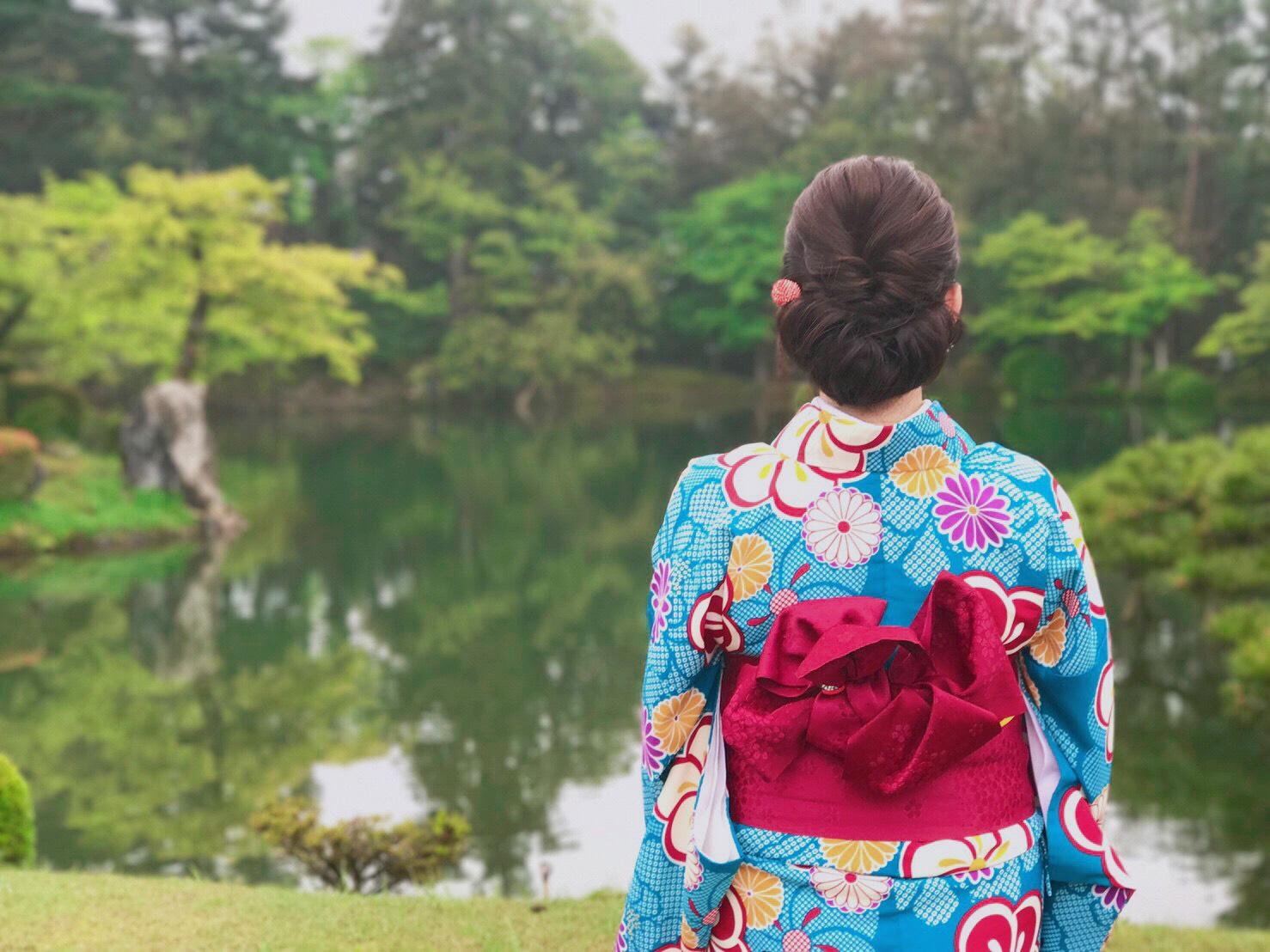 【金沢女子旅】1日目♡着物満喫コース《ひがし茶屋街/兼六園》_2