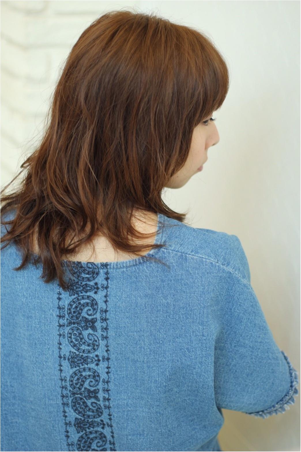 夏のセールで買ったもの♡モデル小泉里子さんコラボデニムワンピース_4