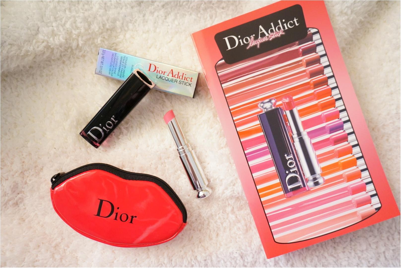 《フォンダンリップ》って何??【Dior ADDICT】から新リップ・ラッカースティックが登場❤️_6