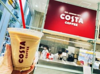 【銀座カフェ】日本初上陸!ロンドン発《コスタコーヒー》が期間限定でオープン♡