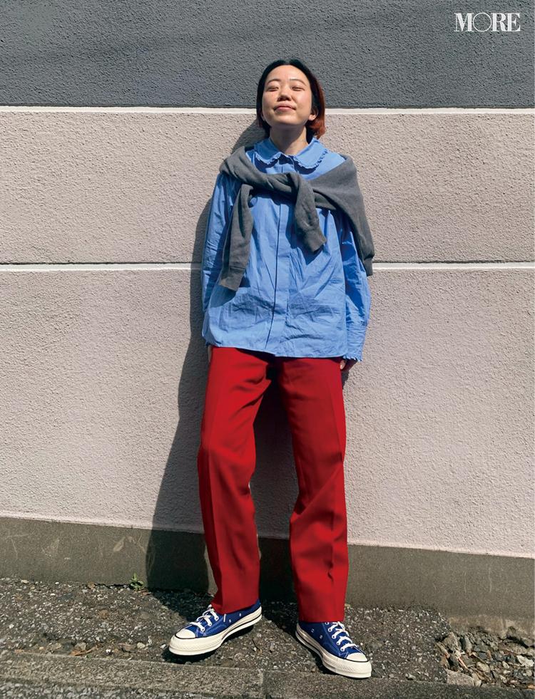 着たい服に合わせて髪を切るというスタイリスト高野麻子さん