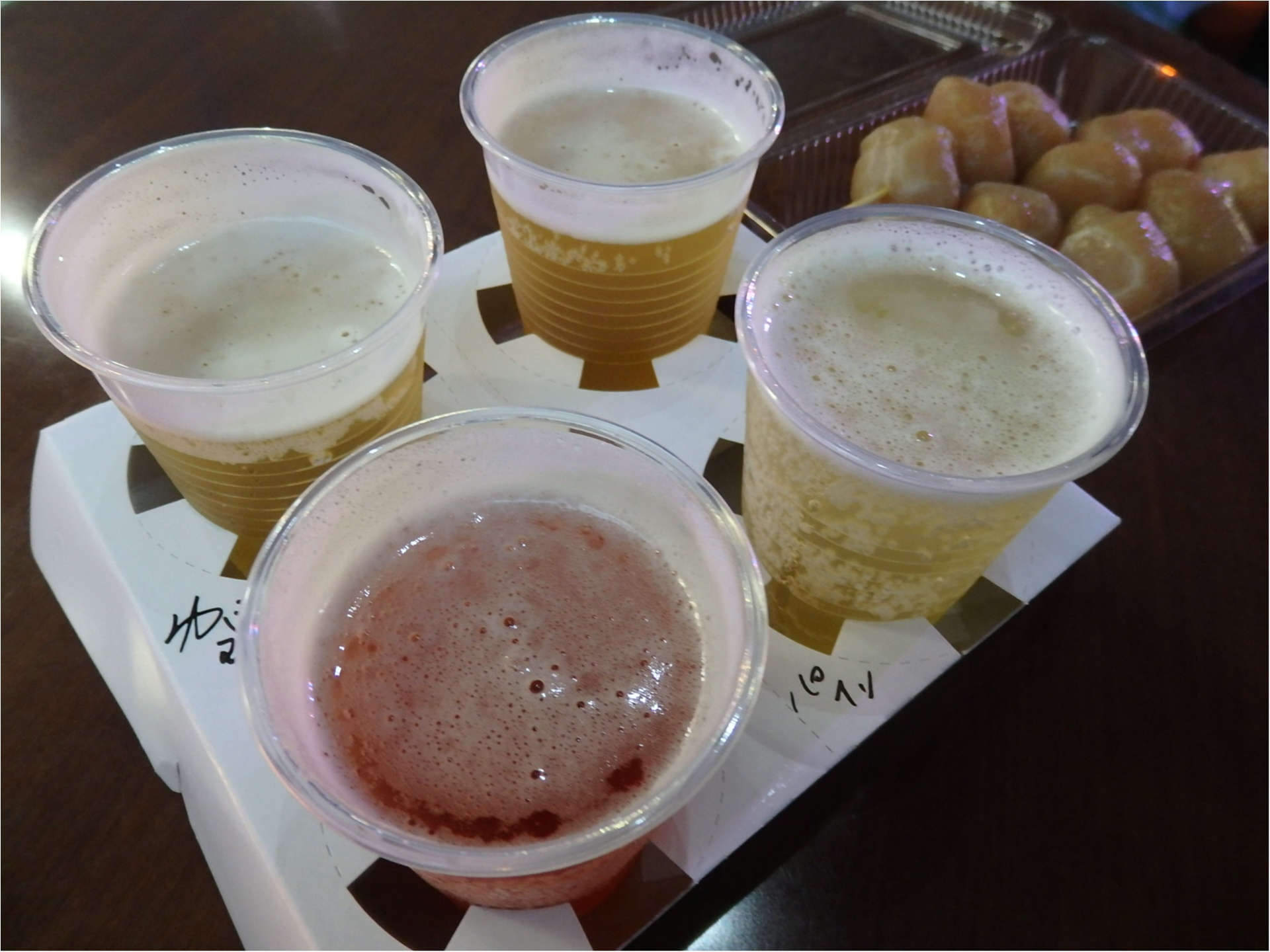 【速報】けやきひろば秋のビール祭り本日からスタート♪気になる混雑具合や無料席の様子などレポします!_10