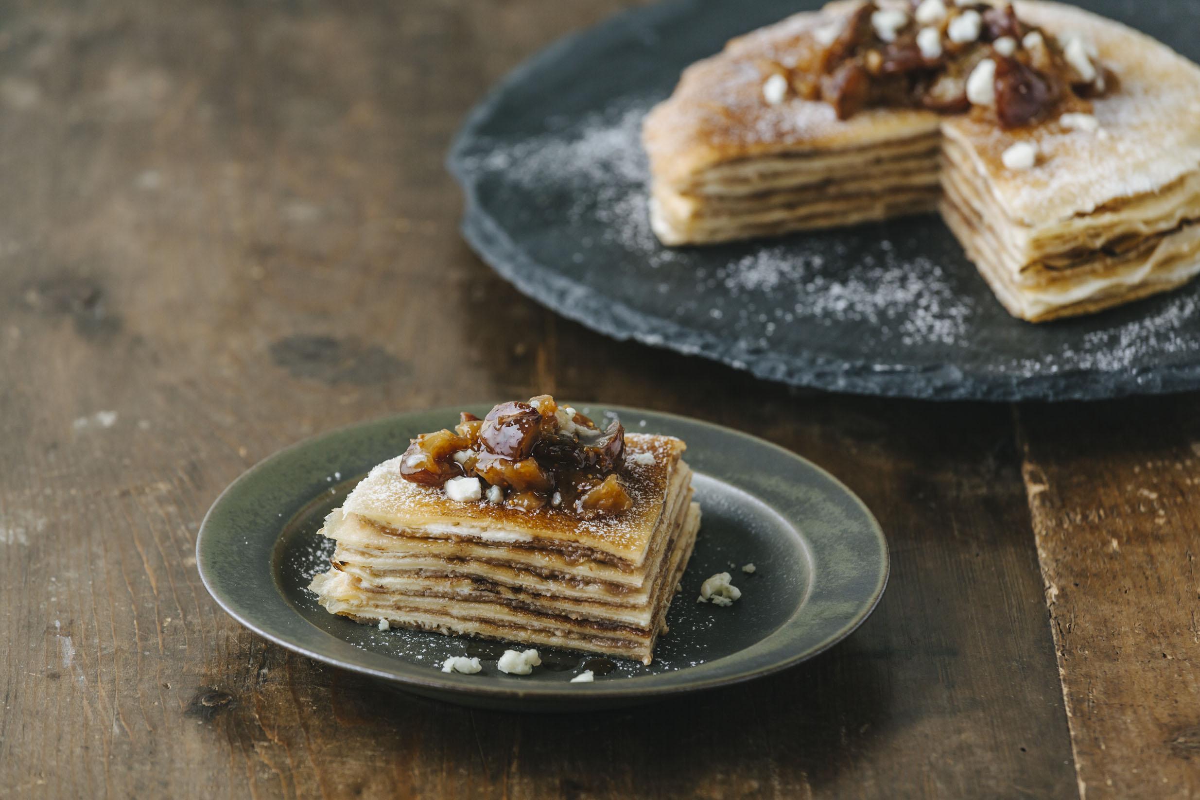『J.S.PANCAKE CAFE(ジェーエスパンケーキカフェ)』のリッチなモンブランパンケーキ♡_2
