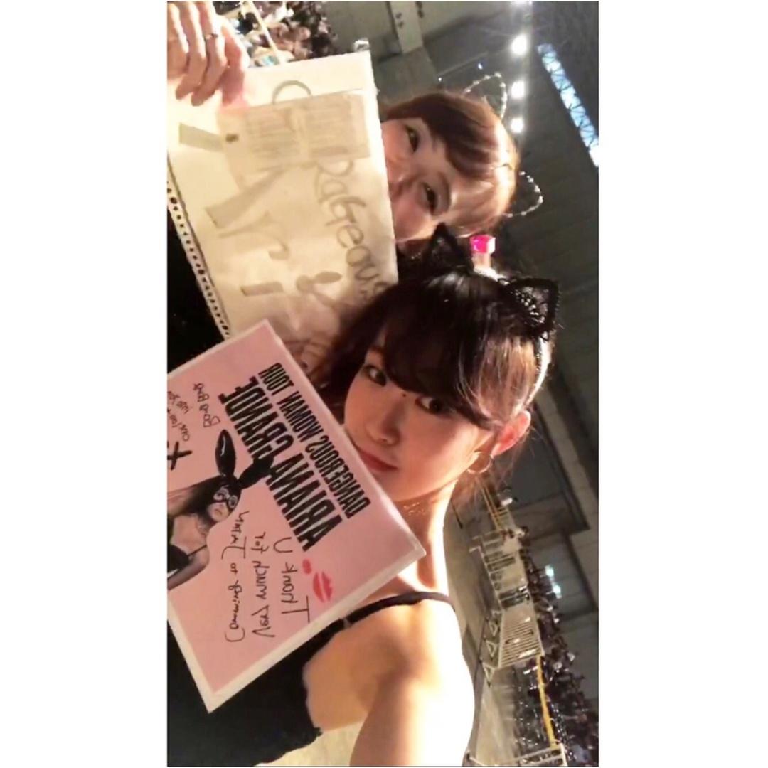 【❤︎❤︎❤︎】アリアナグランデ #dangerouswomantour に行ってきたああああ!!_1