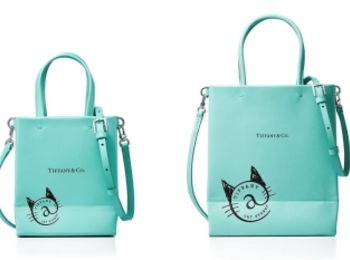 『ティファニー』の限定バッグが発売開始。猫モチーフとティファニーブルーにキュンです!