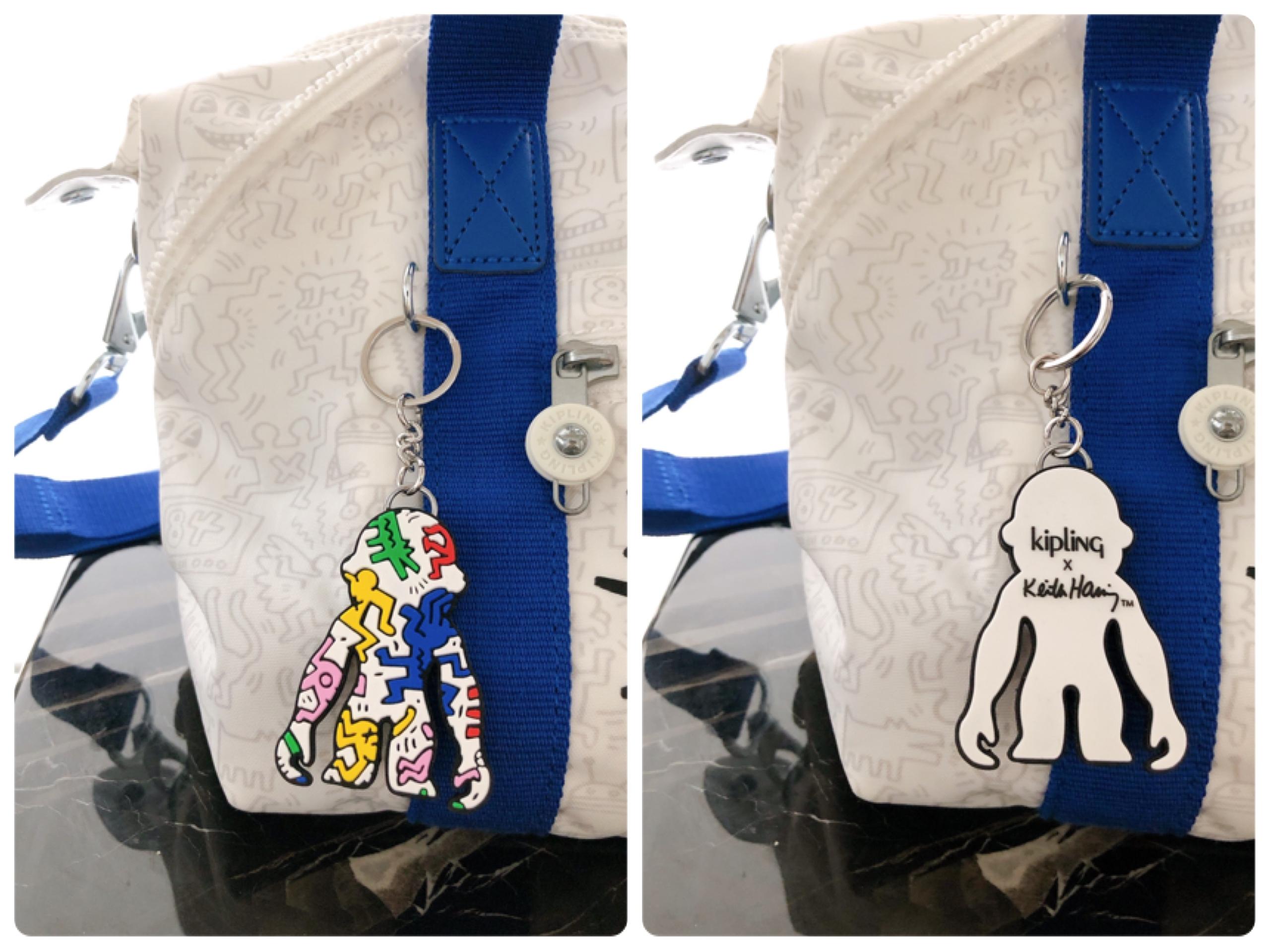 【NEW!】《Kipling×Keith Haring》ポップなデザインがファッションのアクセントに♡ GoTo Travelに大活躍の2wayバッグ!_4