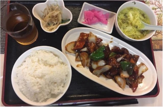 東京で出会ったキタナシュラン★雰囲気あるお店で黒酢あん定食を_5