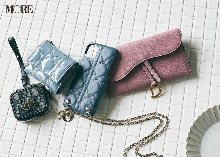 ディオールの長財布、アイフォンケース、ミニ財布、AIRPODSケース