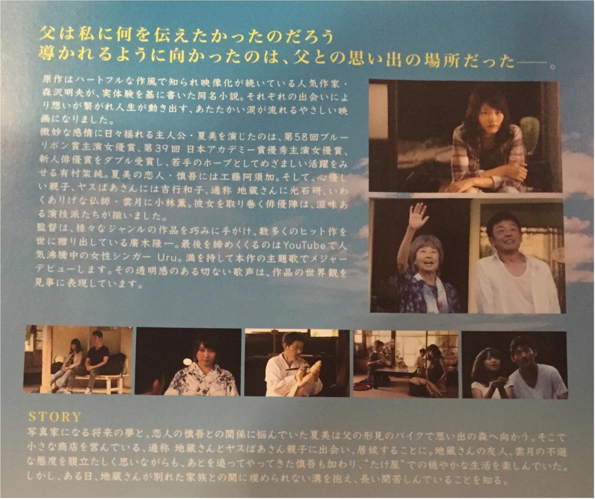 《夏のはじめのオススメ映画》3つの台詞が心に響く...有村架純さん主演【夏美のホタル】_3