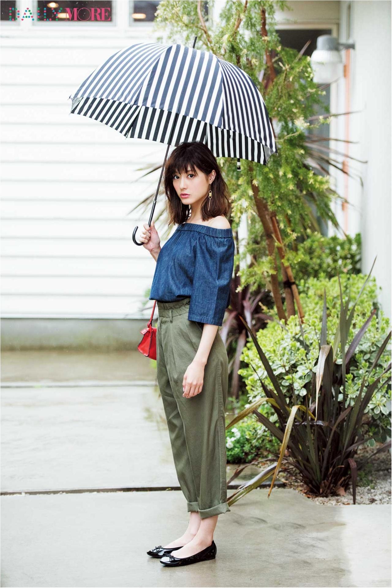 【GET MORE!】「雨の日はおしゃれできない」なんて言わせない! 可愛くって快適なコスパアイテムここにあります!_2