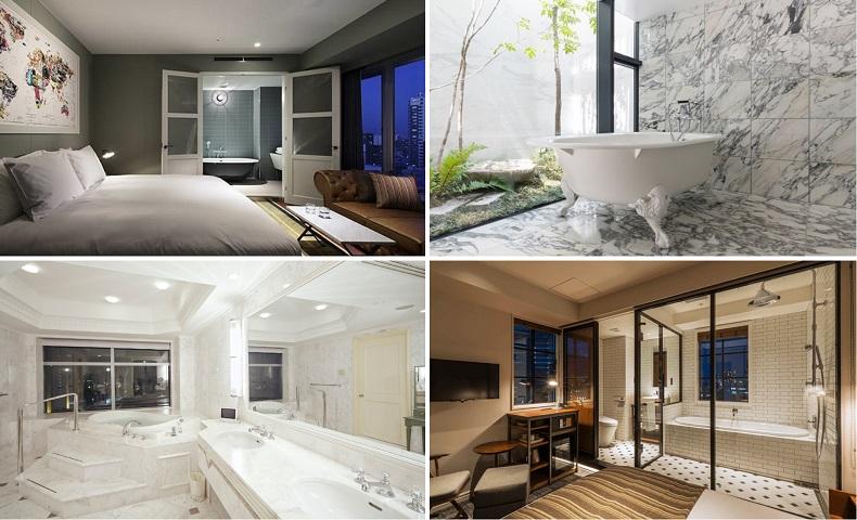 おこもりステイにおすすめ! バスルームが魅力のおしゃれなホテル4選(東京・千葉)