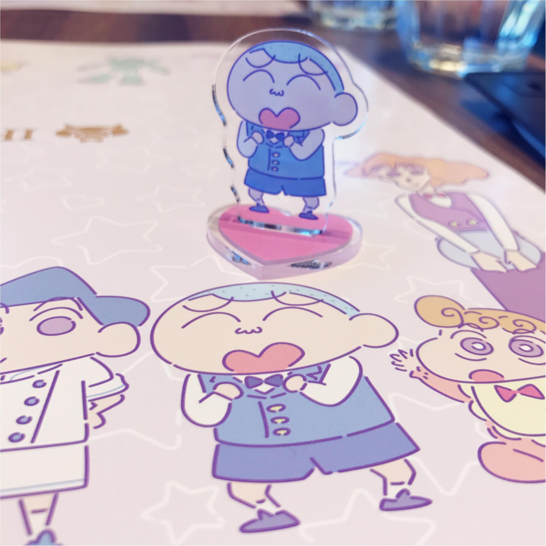 クレヨンしんちゃんコラボカフェ【ビストロオラマチ】に行ってきました♡_7