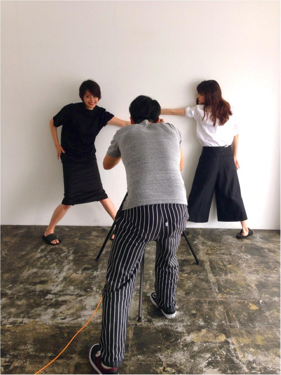 【オフショット】セシル&ありさ、体張ってます!_3