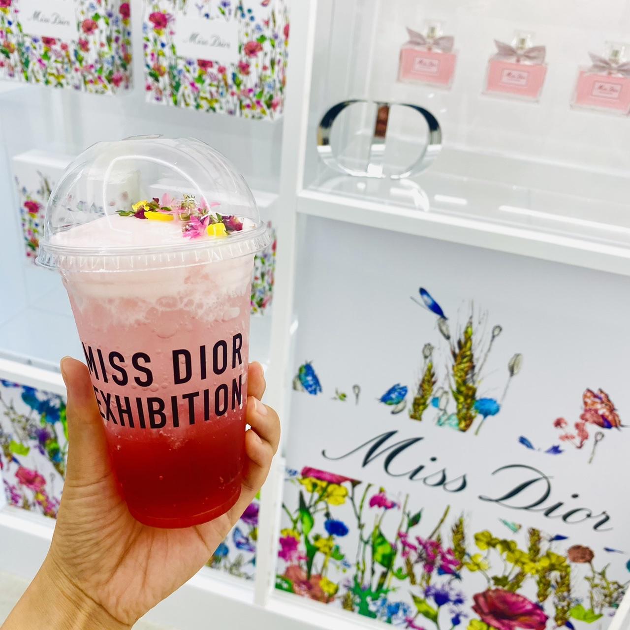 【Dior】豪華お土産付き★ 可愛いの宝庫♡カフェ併設《ミス ディオール アート イベント》へ_9