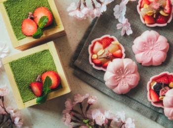 桜スイーツ2020♡ 『星野リゾート OMO5東京大塚』の「お花見スイーツセット」で、#ひな祭り をお祝い!【#いちご #桜】