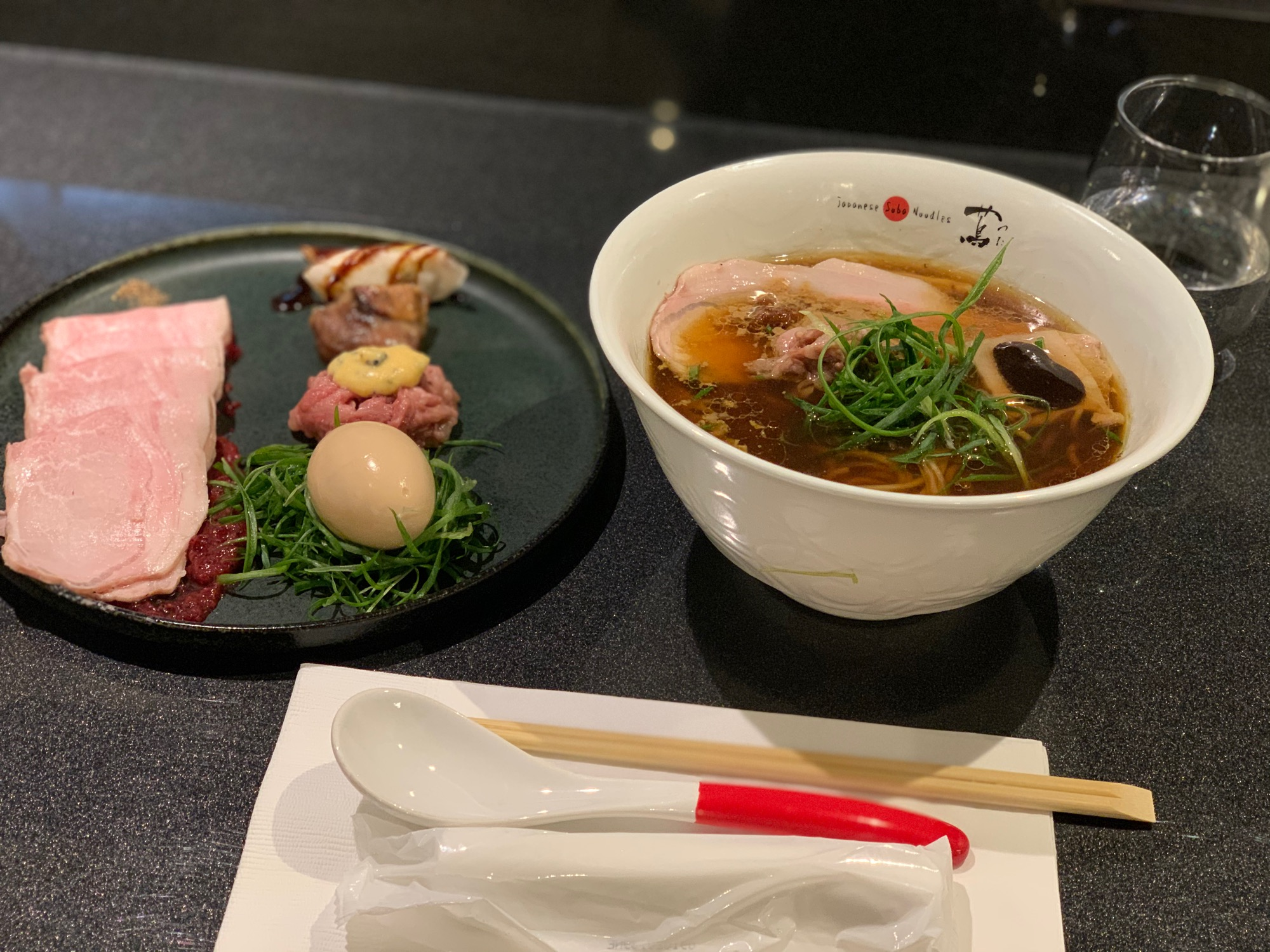 《ミシュラン一つ星獲得❤️ラーメン》代々木上原【Japanese Soba Noodles 蔦(つた)】に行ってきました☻!_4