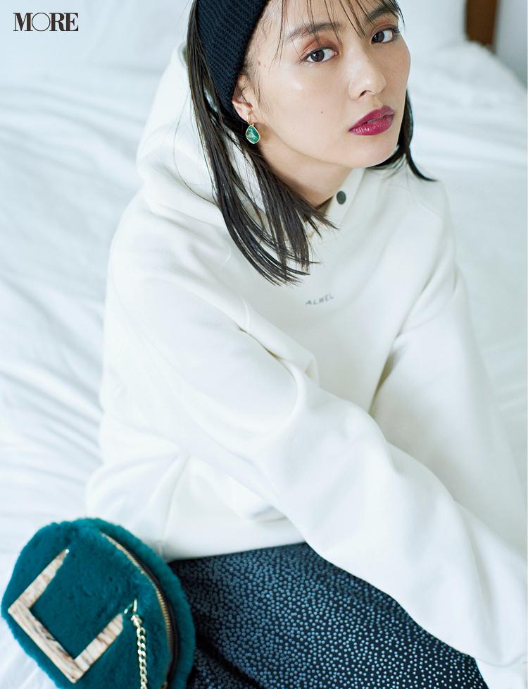 「白い服で細見え」ってこんなに簡単なの!? ヘアアレンジやサイズ選びで劇的スッキリ♡_5