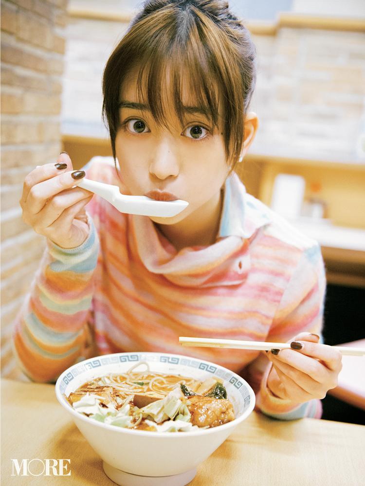 女優・森川葵さんゾッコンの一杯は、食べごたえ満点の『桂花ラーメン』の太肉麺♪_1