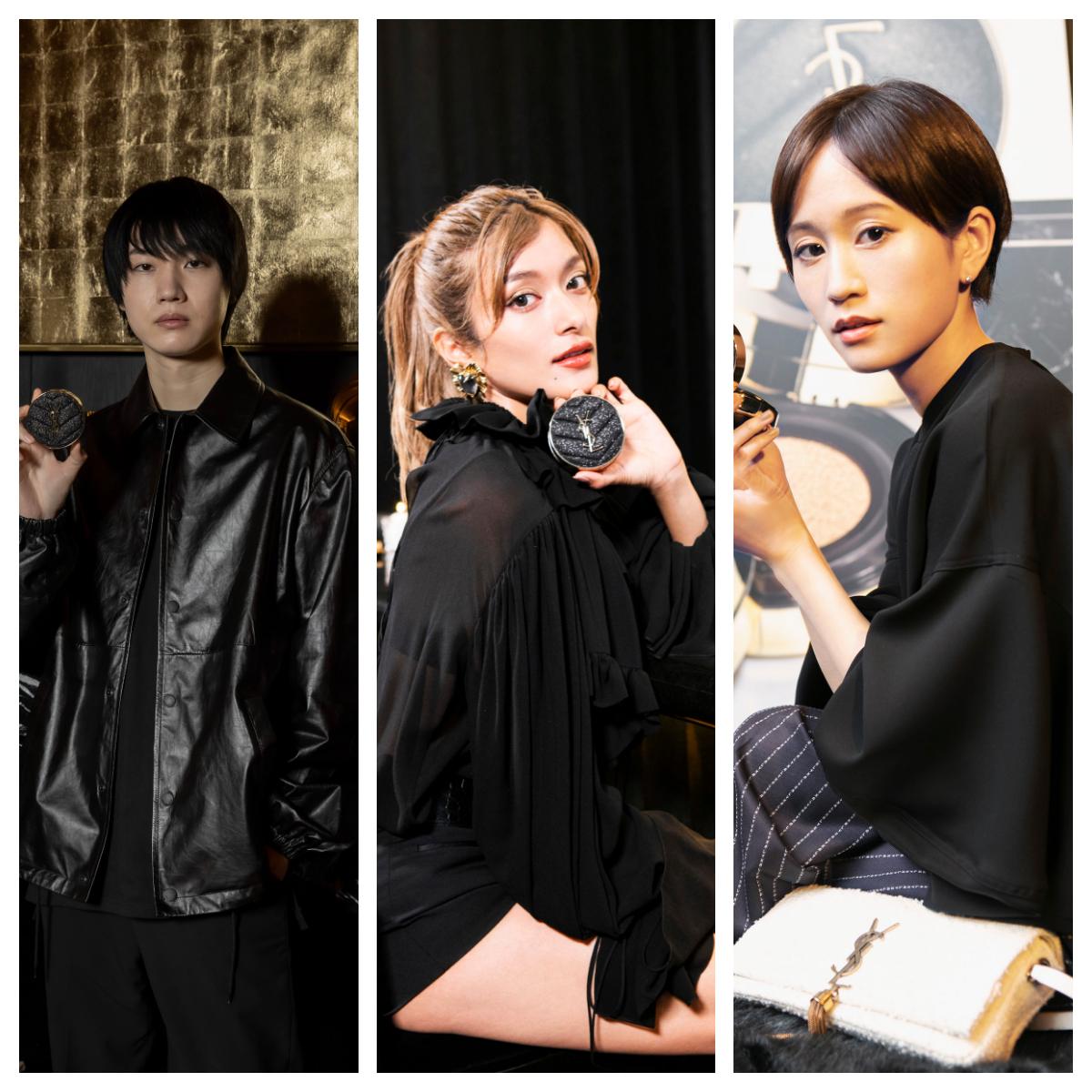 桜田通さん、ローラさん、前田敦子さん