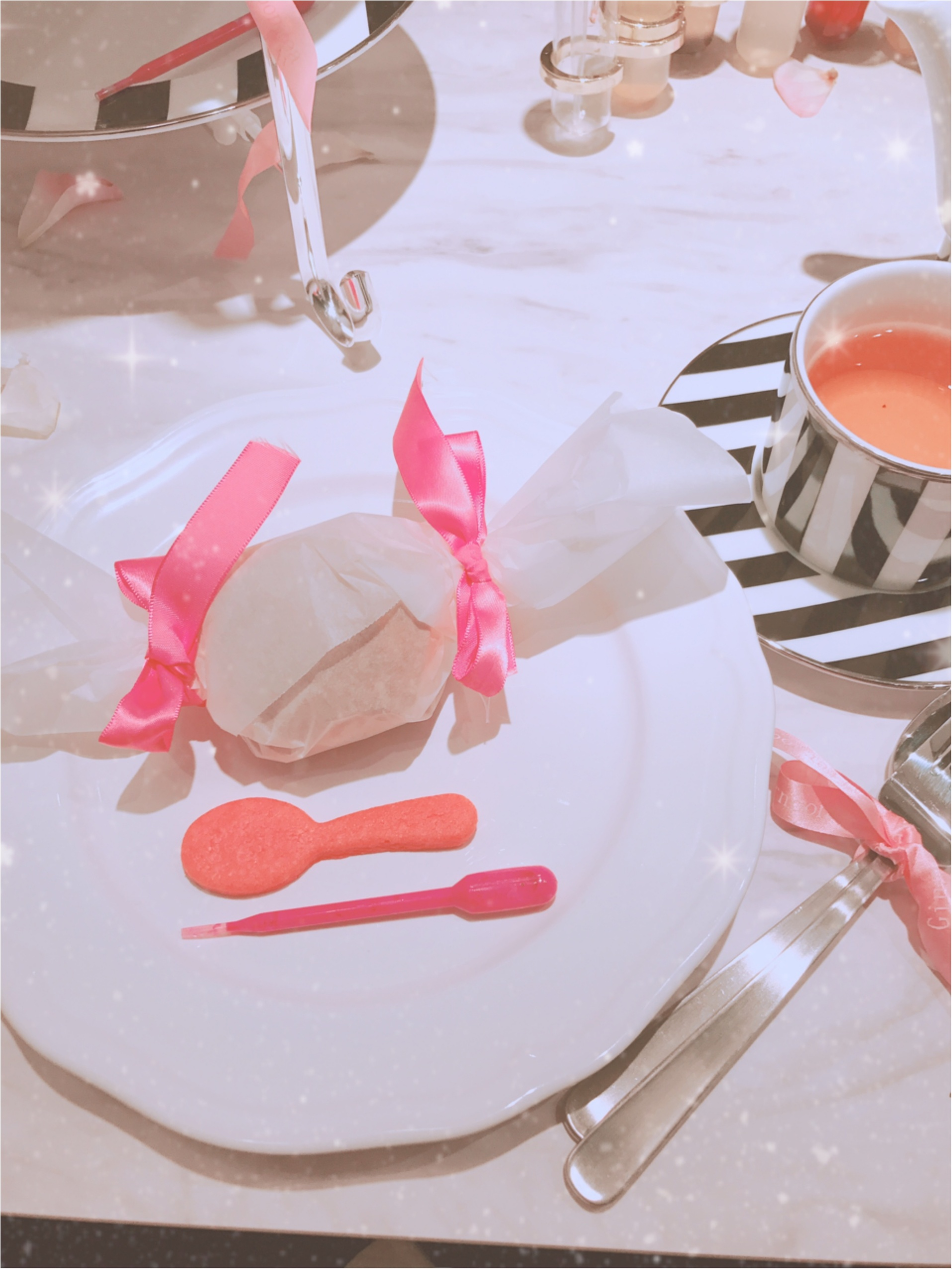 土日祝限定!完全予約制、ジンジャーガーデン青山のピンクアフタヌーンティーが可愛すぎる!_13