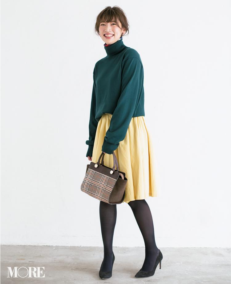 【読者変身】無難、甘すぎ、いつも同じ……きれい色スカートのお悩み、スタイリスト高野さんが解決します☆ 記事Photo Gallery_1_6