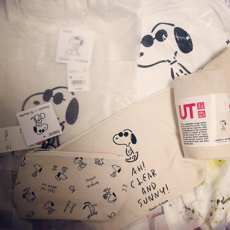 <UNIQLO>今年初ショッピングはユニクロ!かわいすぎる「PEANUTS×YU NAGABA」のアイテムをゲットしました♡_1