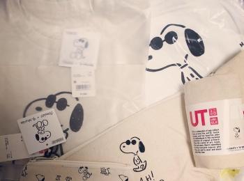<UNIQLO>今年初ショッピングはユニクロ!かわいすぎる「PEANUTS×YU NAGABA」のアイテムをゲットしました♡
