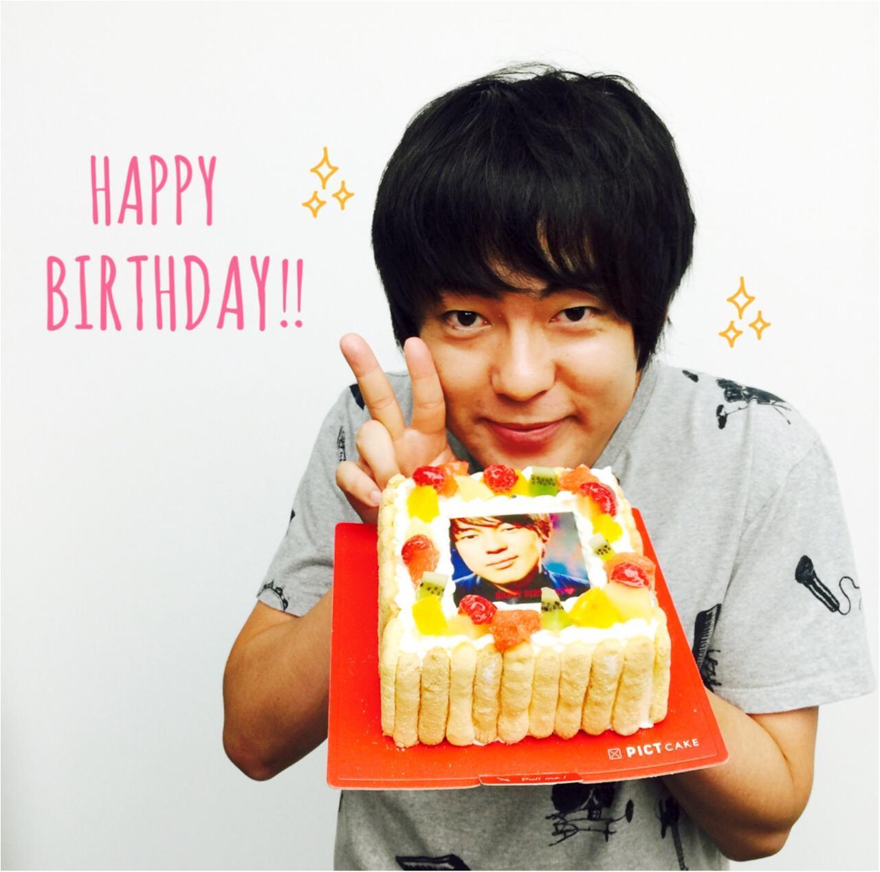 【オフショット】ウーマンラッシュ村本さん、ちょっと早めのお誕生日祝い♡_1