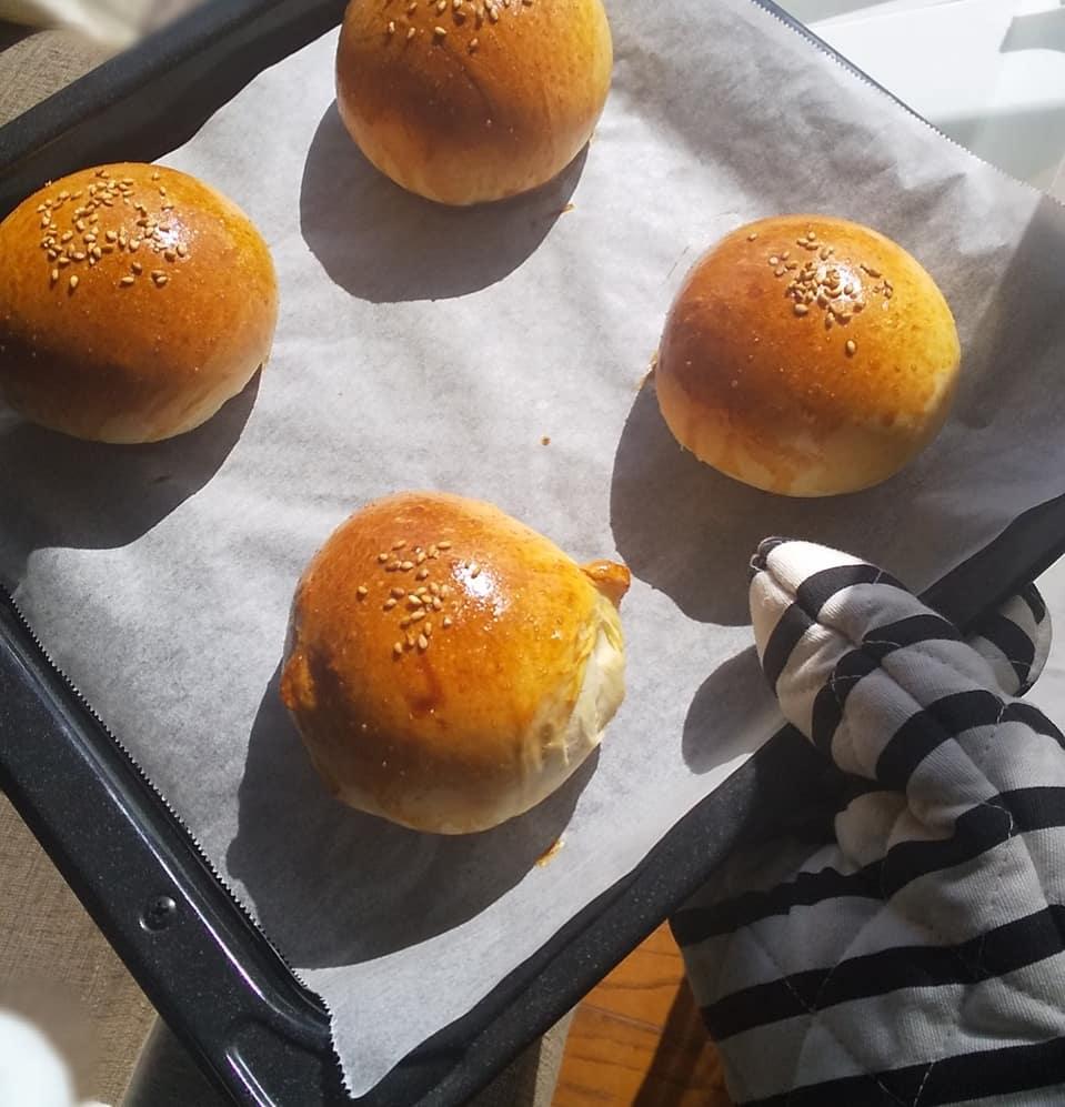 【おうちカフェを極めたい】時間をかけた自信作のハンバーガー_5