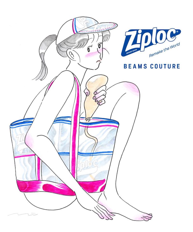 『Ziploc©』がトートバッグに変身!? 『BEAMS』との異色コラボから目が離せない!_3