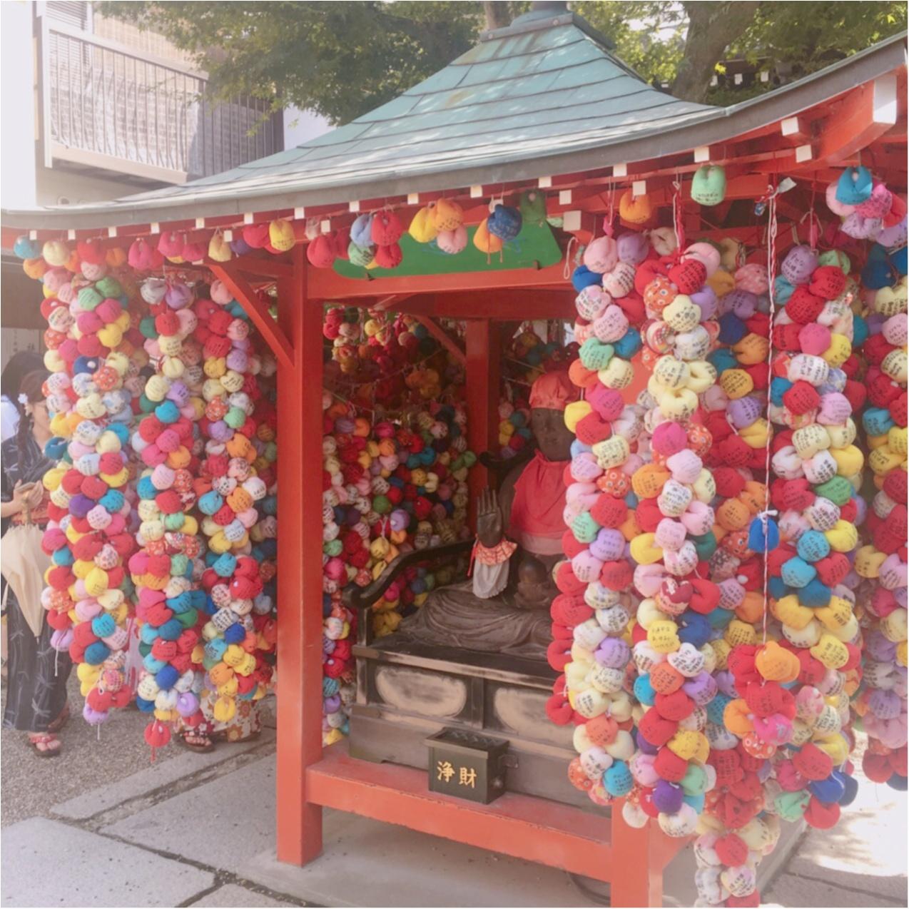 カラフルで可愛い♡ 京都にあるフォトジェニックなスポット《 八坂庚申堂 》って知ってる? おしゃれな写真のアイディア3選♡_2